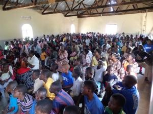 Church at the Uganda!